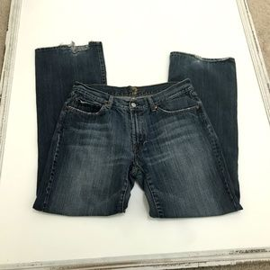 """7 For All Mankind Jeans - 7 For All Mankind """"A"""" Pocket Jeans Size 33"""